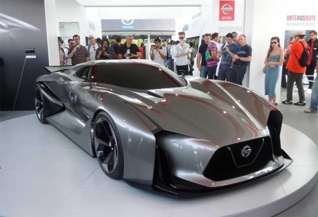 2017-Nissan-GT-R-Concept-front