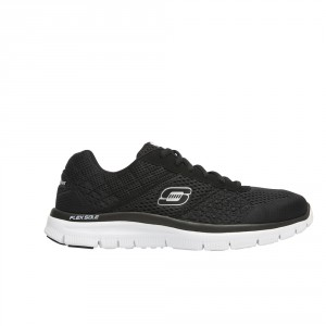 skechers nz. skechers_flex advantage-cover action_blackwhite_rrp139.90 skechers nz