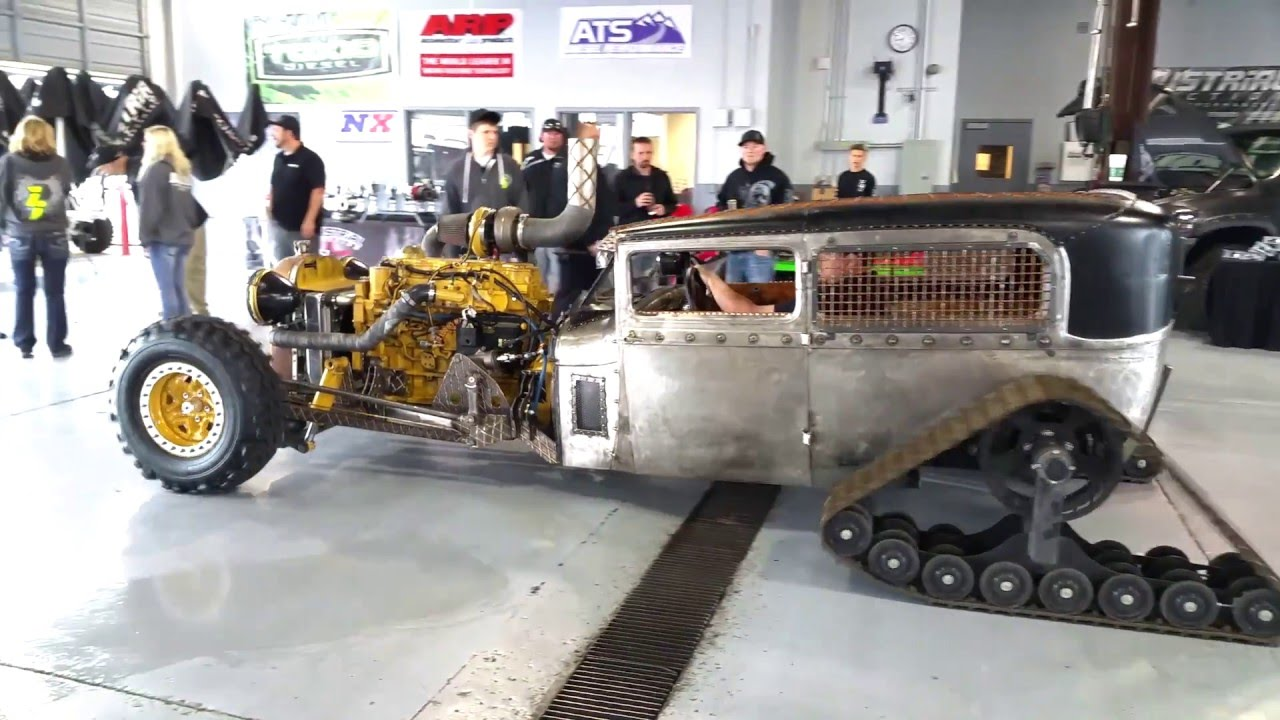 Rat Rod Diesel With Tracks The Empire