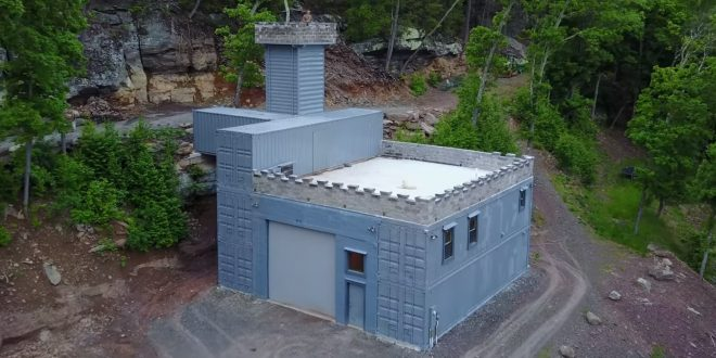 Shipping Container Castle The Empire